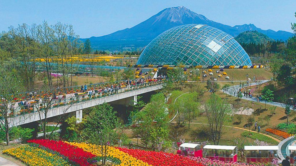 大山・とっとり花回廊